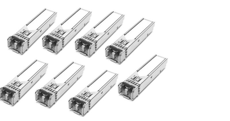 Brocade - 8 Pack of SFP (mini-GBIC) transceiver modules