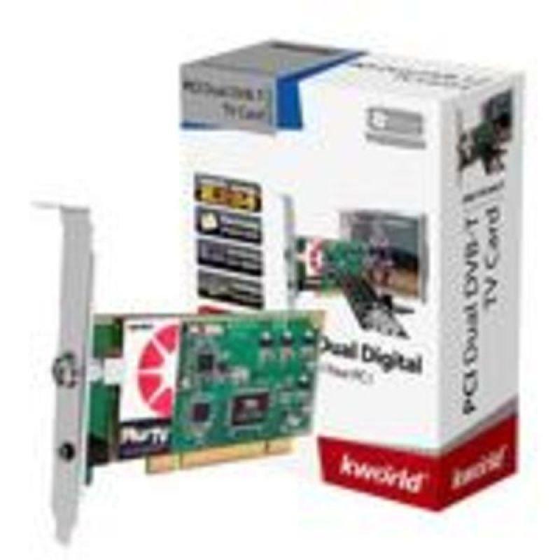 KWorld PlusTV PC160-2T Dual DVB-T PCI TV Card
