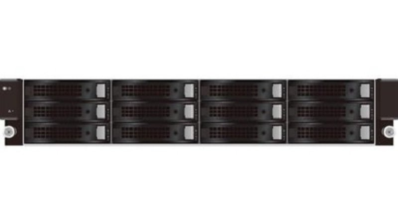 QSAN U221 TrioNAS 12 Bay 10GbE ZFS 2U Rack NAS Enclosure