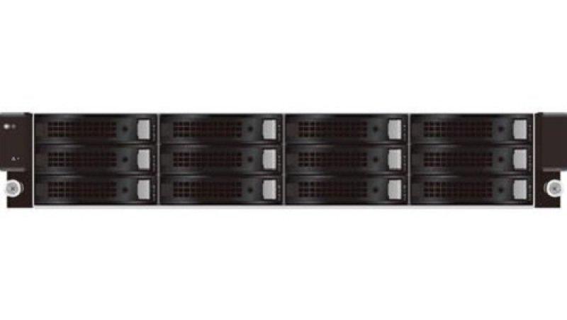 QSAN U221 TrioNAS 12TB (WD RE HDD) 12 Bay 10GbE ZFS 2U Rack NAS