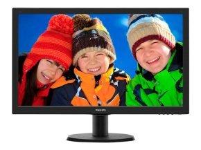 "Philips 243V5LHAB/00 23.6"" LED HDMI Monitor"