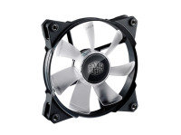 Cooler Master Jet Flo White LED Pwnfan - 120mm 600/2000RPM