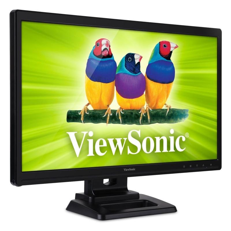 "Viewsonic 24"" LED TD2420 Touch VGA DVI Monitor"
