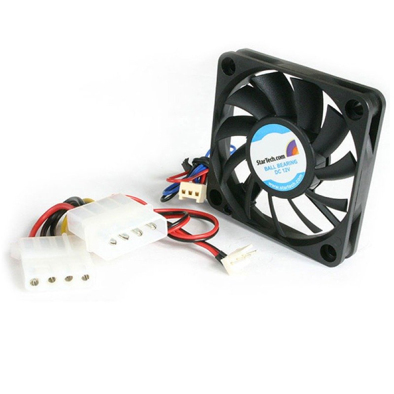 Startech Replacement Ball Bearing Computer Case Fan with TX3/LP4 Connector