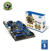 MSI Z87-G43 Socket 1150 HDMI D-Sub DVI 8-Channel Audio ATX Motherboard