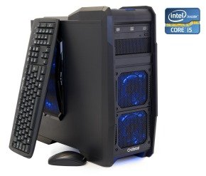 Chillblast Fusion Sword Gaming PC, Intel Core i5-4430 3GHz, 8GB RAM, 1TB HDD, DVDRW, AMD 7790, Windows 8 64bit