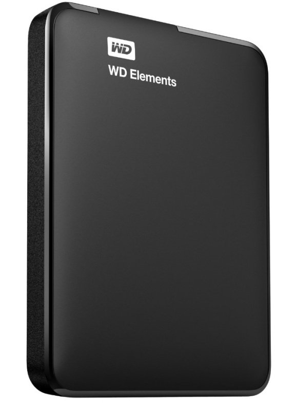 WD Elements 2TB USB 3.0 Portable External Hard Drive Black
