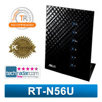 ASUS RT-N56U Black Diamond Dual-Band Wireless-N600 Gigabit Router