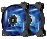 Corsair AF120 LED Blue Quiet Edition High Airflow 120mm Fan Twin Pack