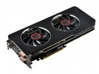 XFX R9 280X Black Edition 3GB GDDR5 Dual DVI HDMI Dual Mini DisplayPort PCI-E Graphics Card