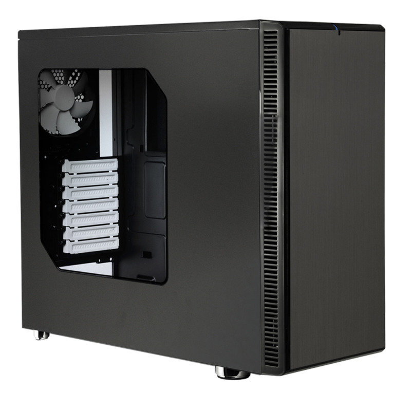 Fractal Design Define R4 Computer Case Black Pearl With Usb 3.0 And Window