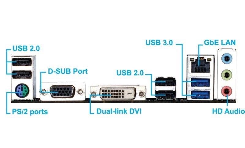 Gigabyte GA-F2A88XM-DS2 Socket FM2+ VGA DVI 7.1 Channel Audio mATX Motherboard