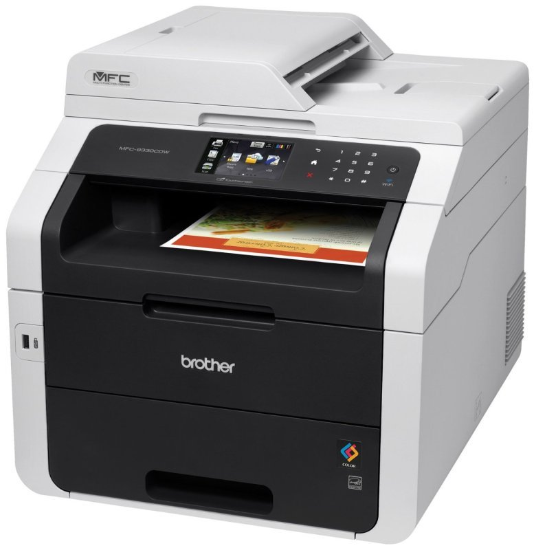 Brother MFC9330CDW High Speed AllInOne Colour Duplex Printer
