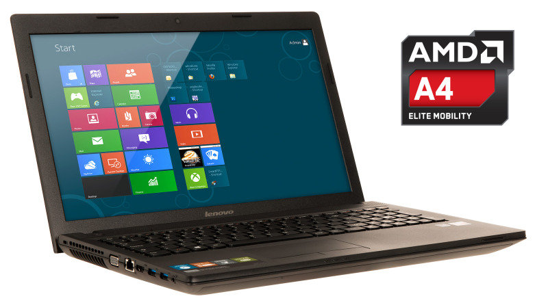 Lenovo IdeaPad G505 Laptop AMD QC A45000 1.5GHz 4GB RAM 1TB HDD 15.6&quot TFT DVDRW Windows 8 64bit
