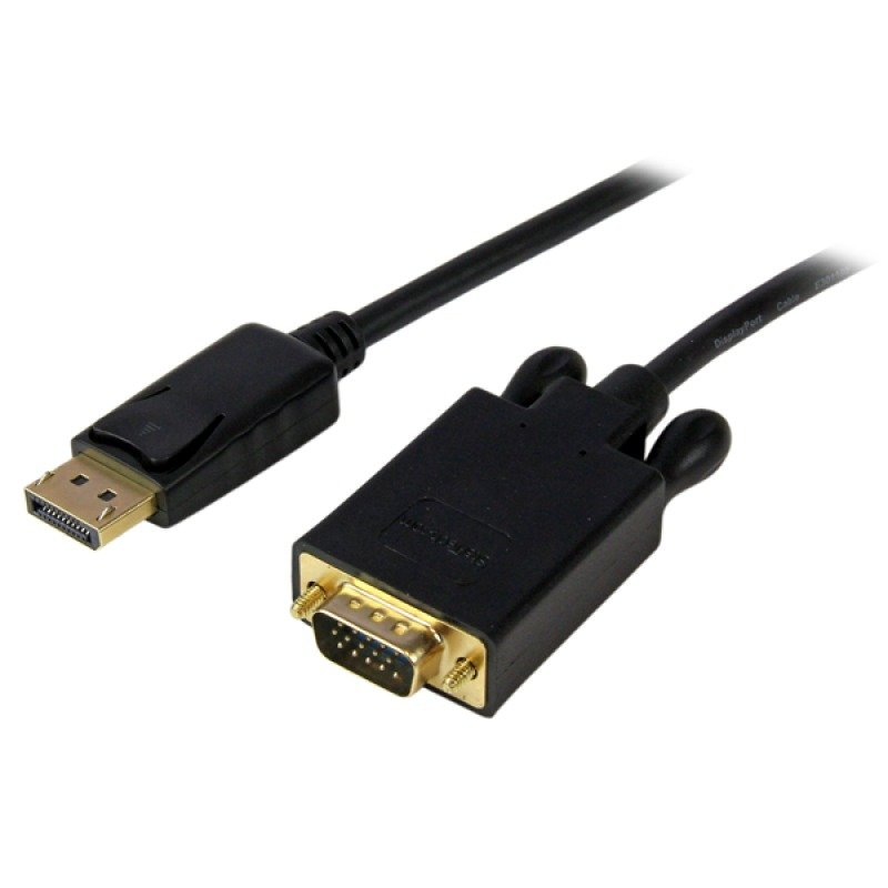 StarTech.com 10 Ft Displayport    To Vga Adapter Converter Cable     Dp To Vga 1920x1200 - Black