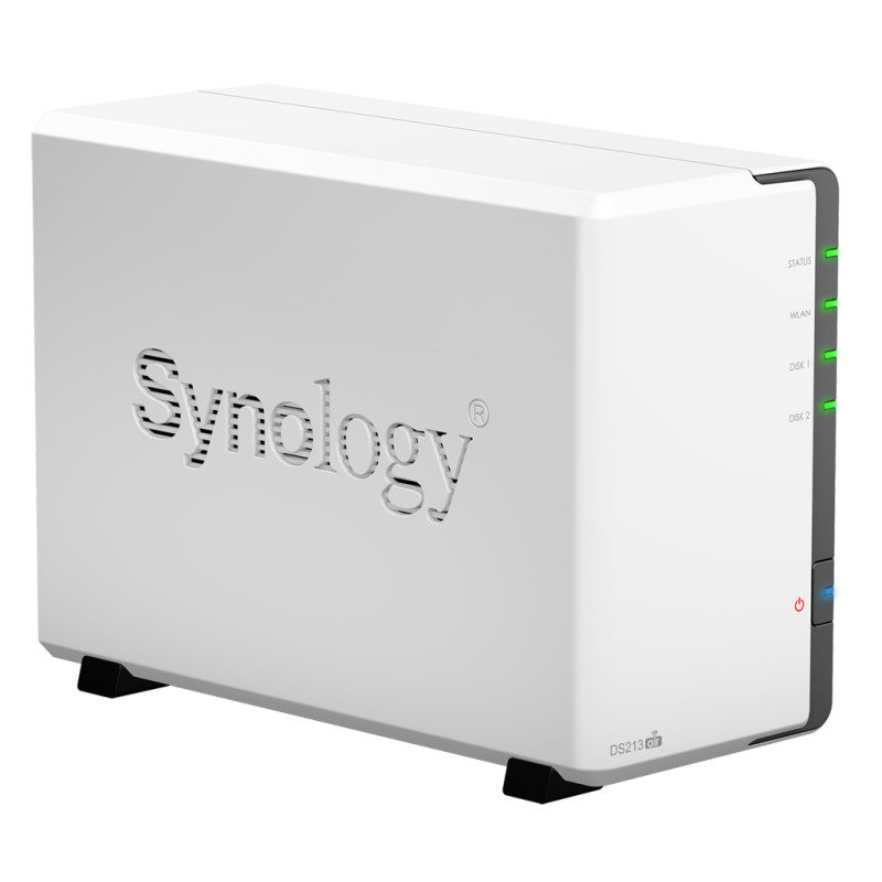 Synology DS213air 8TB (2 x 4TB WD Red) 2 Bay WiFi Desktop NAS