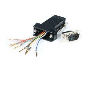 StarTech.com Adaptor DB9M to RJ45F