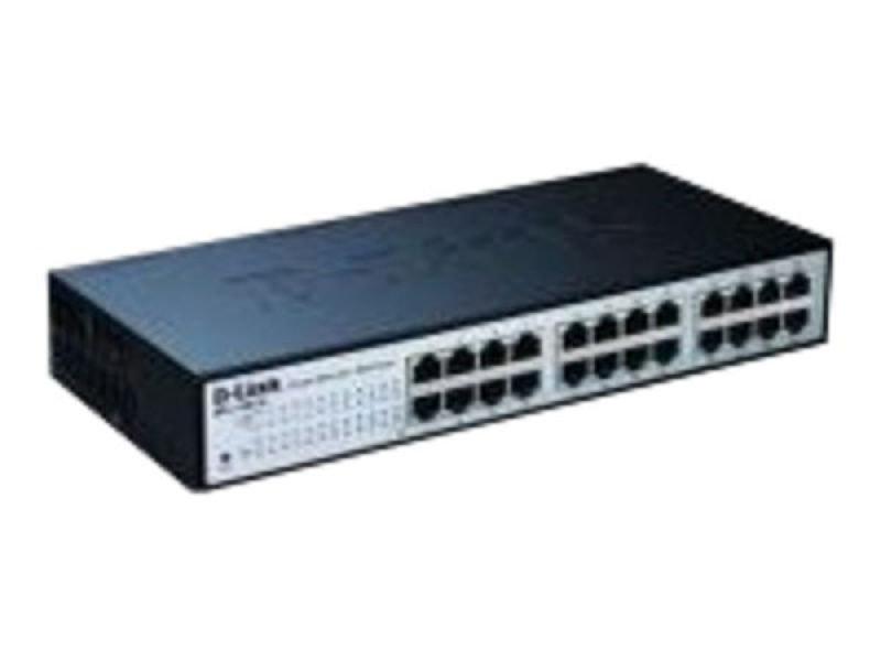 D-Link DES 1100 24 Port 10/100 Desktop Switch unmanaged