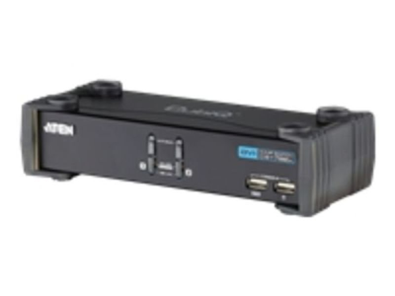 ATEN CubiQ CS1762A KVM / audio switch - 2 ports - USB