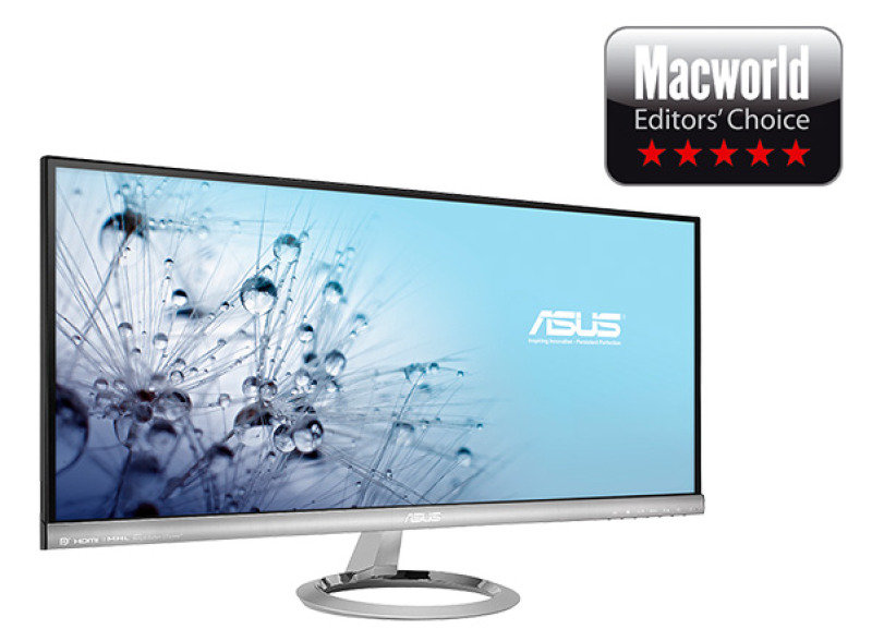 Asus MX299Q 29 LED  IPS 2560x1080 DVI HDMI Display Port  Speakers  Designo Series Ultrawide 219 Cinematic Monitor