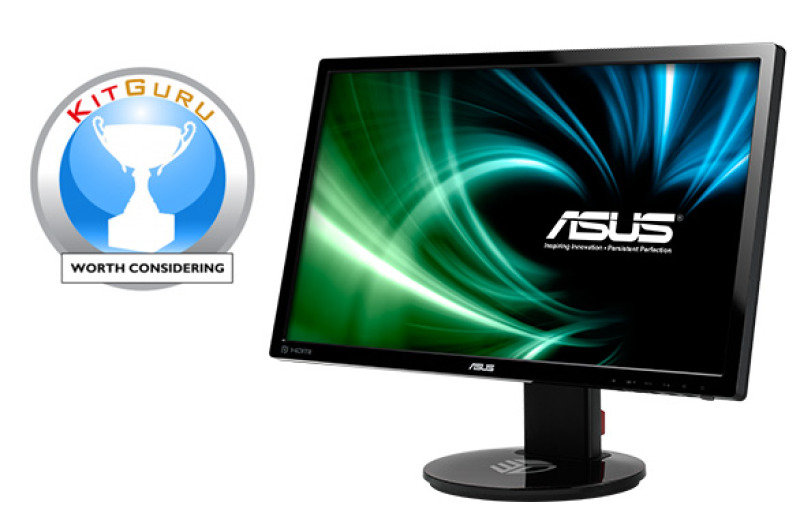 "Asus VG248QE 24"" 144Hz 1ms Gaming Monitor"