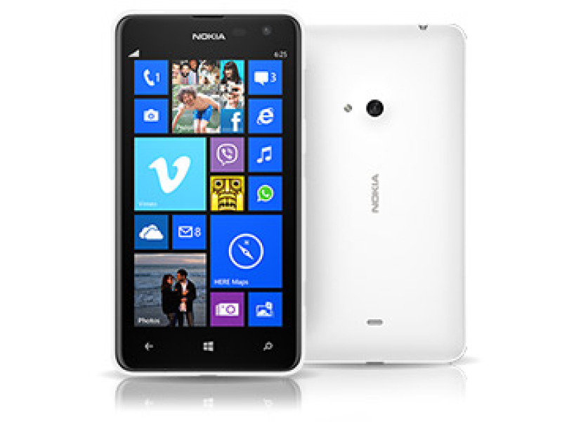 Nokia Lumia 625 Windows 8  White