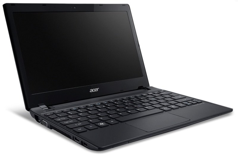 Acer TravelMate B113E Laptop Intel Pentium DC 2117U 1.8GHz 4GB RAM 320GB HDD 11.6&quot TFT NOOPT Intel HD Webcam Bluetooth Windows 8 64bit