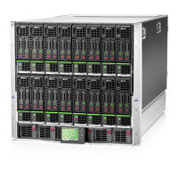 HPE BLc7000 Platinum Enclosure with 1 Phase 6 Pwr Supplies 10 Fans ROHS 16 IC Licenses