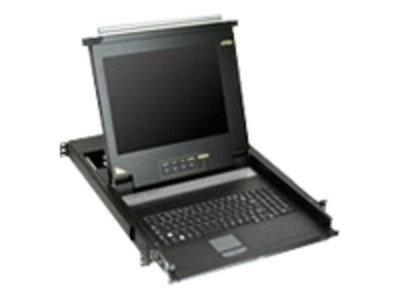Aten 17 Inch Lcd Rack Console Single Console Port