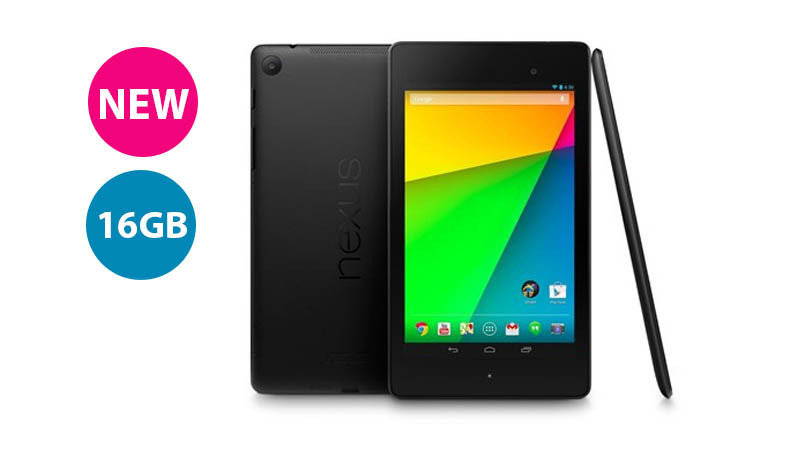 "Image of Asus Google Nexus 7 Tablet PC, Snapdragon S4 Pro 8064 1.5Ghz, 2GB RAM, 16GB Flash, 7"" Touch, Wifi, Bluetooth, Android KitKat - ASUS-1A007A"