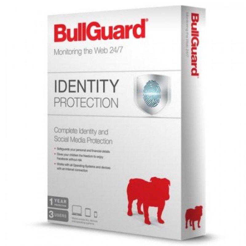Image of BullGuard Identity Protection- 1 Year 3 Users