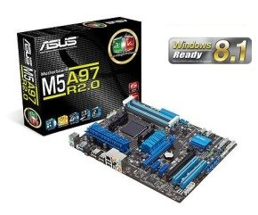Asus M5A97 R2.0 Socket AM3+ 8 Channel Audio ATX Motherboard