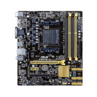Asus A88XM-A Socket FM2+ DVI HDMI 8 Channel HD Audio mATX Motherboard