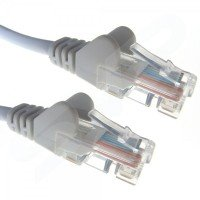 Xenta Cat6 Snagless UTP Patch Cable (Grey) 2m