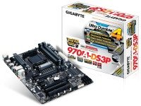 EXDISPLAY Gigabyte GA-970A-DS3P Socket AM3+ 7.1 Channel Audio ATX Motherboard