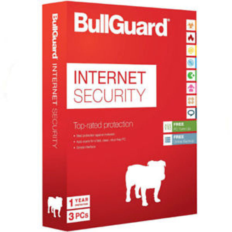 Image of Bullguard Internet Security V14.0 1 Year 3 Users Mini-tuckin
