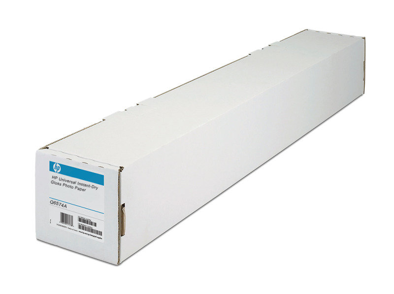 HP Universal 190gsm Instant Dry Gloss Photo Paper Roll - 610mm x 30.5m