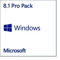 Windows 8.1 Pro Pack- 32 Bit/ 64 Bit Medialess Win to Pro MC- Upgrade pack