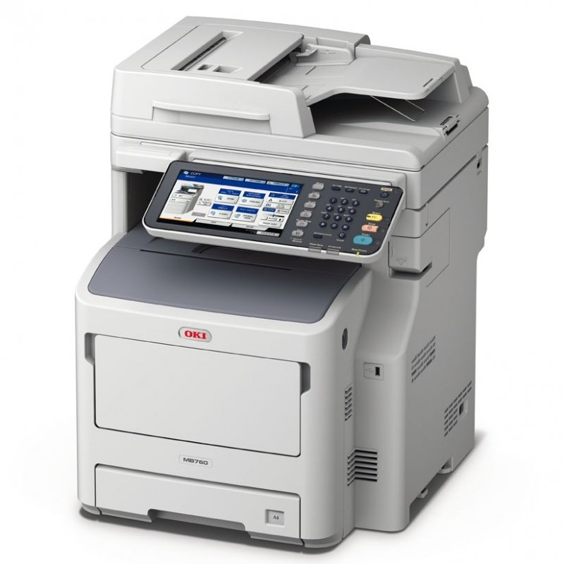 OKI MB760DNFAX A4 Mono Laser Multifunction Printer