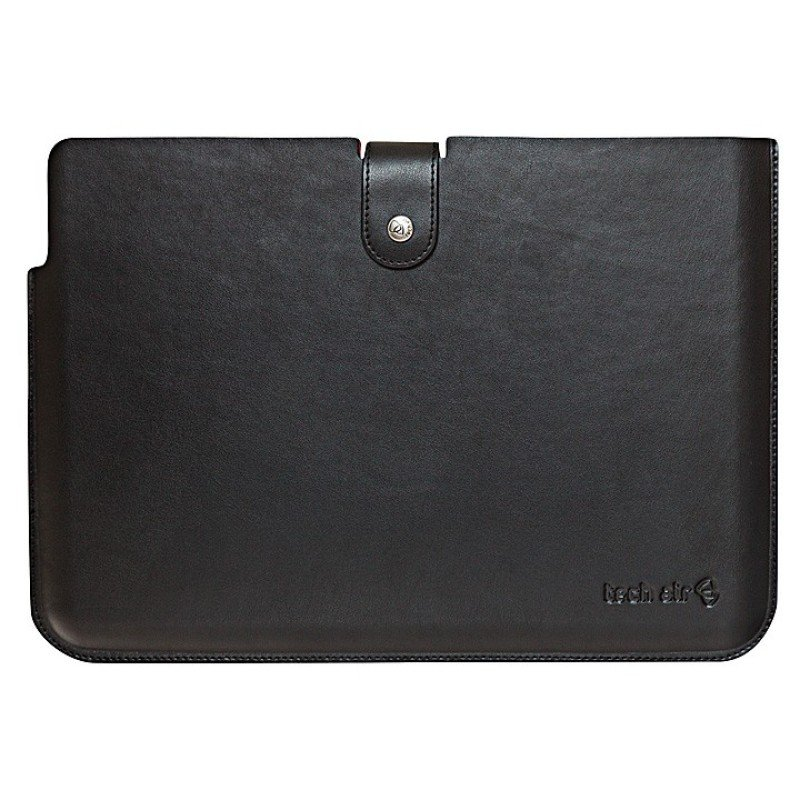 Ultrabook Premium Leather Sleeve Black