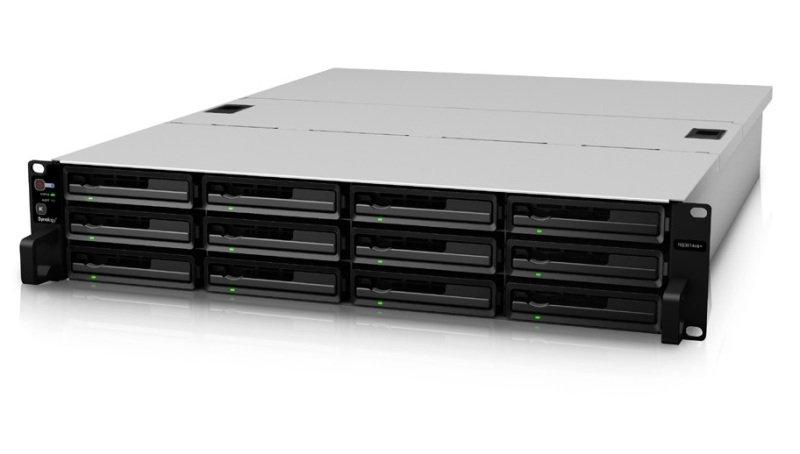 Synology RackStation RS3614xs+ 12TB (12 x 1TB WD RE) 12 Bay 2U NAS