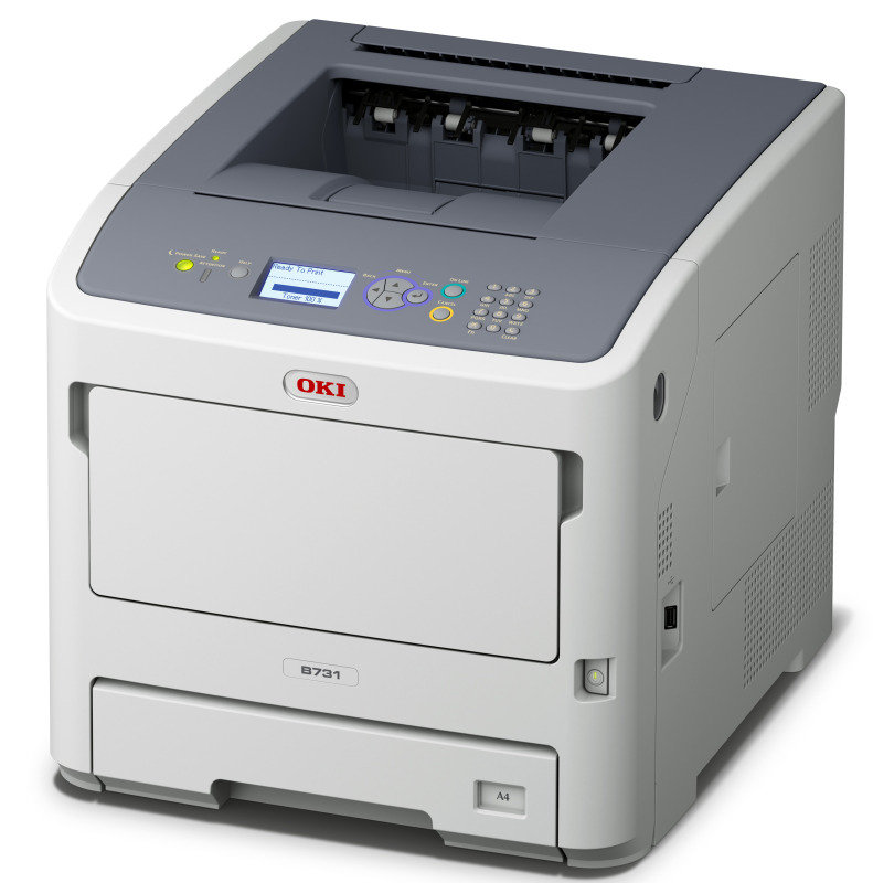 Image of OKI B721DN A4 Mono Duplex Laser Printer