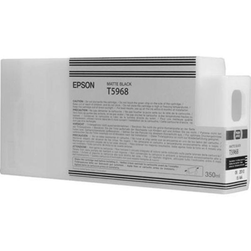 Epson T5968 Matte Black Ink Cartridge