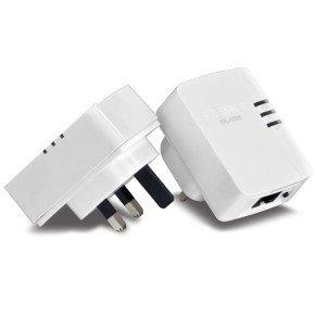 TRENDnet 500 Mbps Compact Powerline AV Kit - Twin Pack