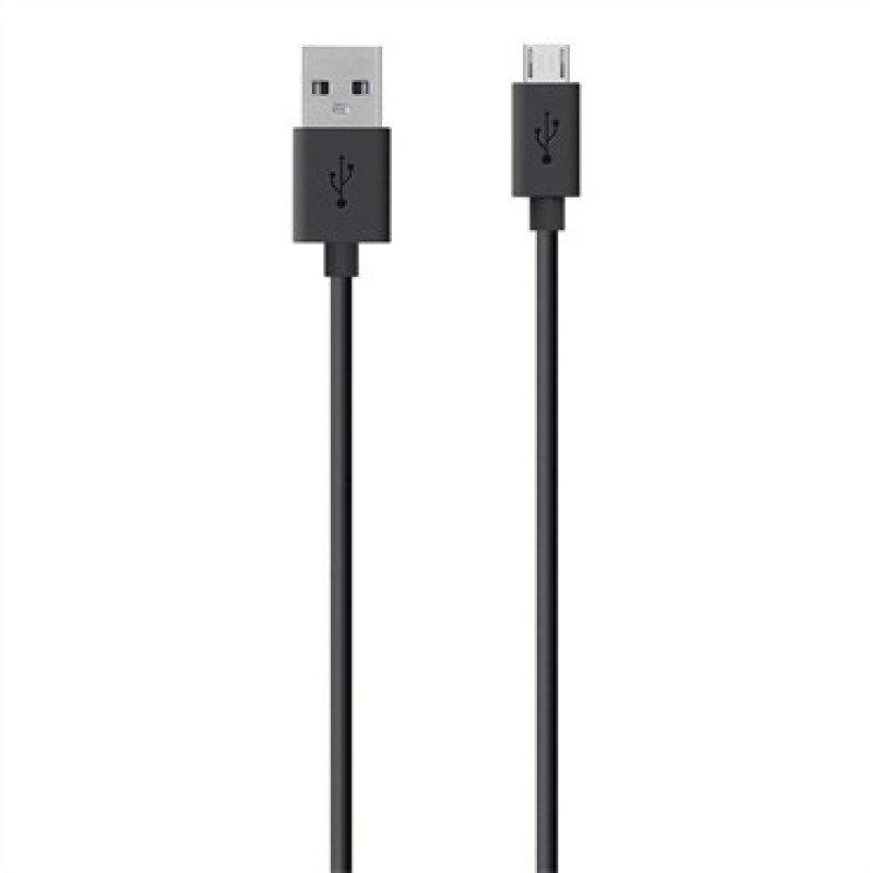 Belkin MixIt Colour Range 2m Micro USB Cable in Black F2CU012bt2M-BLK