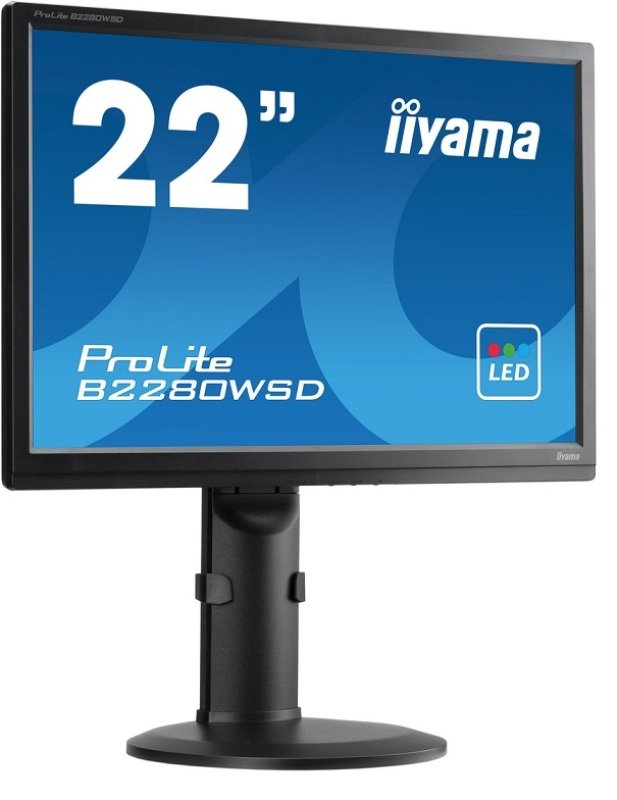 "Iiyama ProLite B2280WSD-1 22"" LED Monitor"
