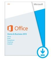 Microsoft Office Home and Business 2013- Electronic Download