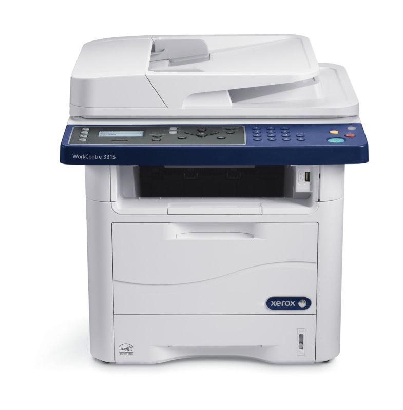 Image of Xerox WorkCentre 3315DN Multifunction Mono Laser Printer