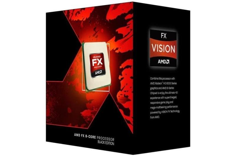 AMD FX 9370 4.4GHz Socket AM3 8MB L3 Cache Retail Boxed Processor