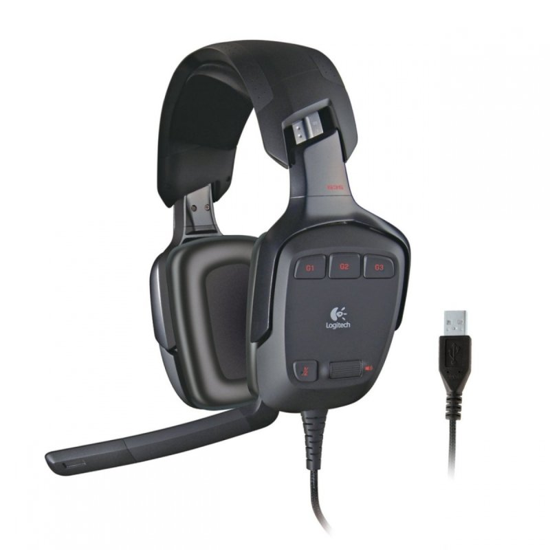 Logitech G930 Wireless Gaming Headset (for PC and PS4)